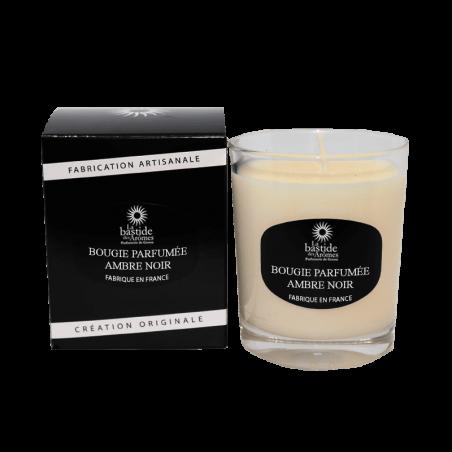 Bougie Parfumée 130g - Ambre noir