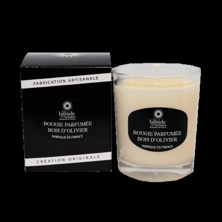 Bougie Parfumée 130g - Bois d'olivier