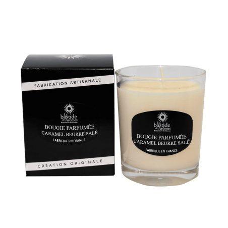 Bougie Parfumée 130g - Caramel beurre salé