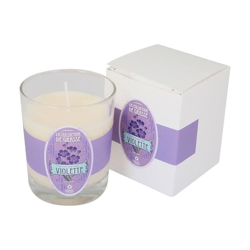 Bougie parfumée Violette - La Collection de Grasse