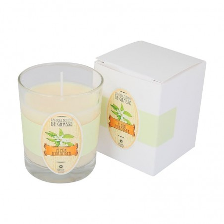 Bougie Parfumée 130g - Fleur d'oranger