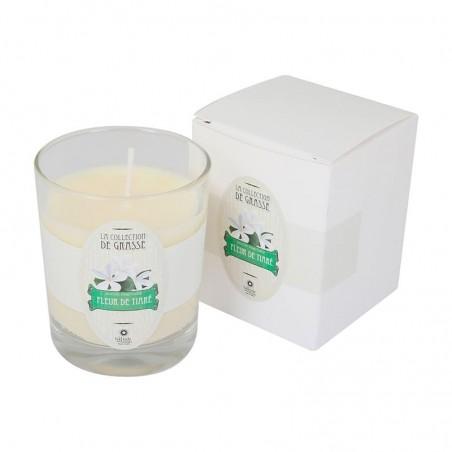 Bougie Parfumée 130g - Fleur de tiaré