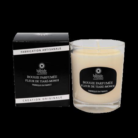 Bougie Parfumée 130g - Fleur de tiaré - Monoï