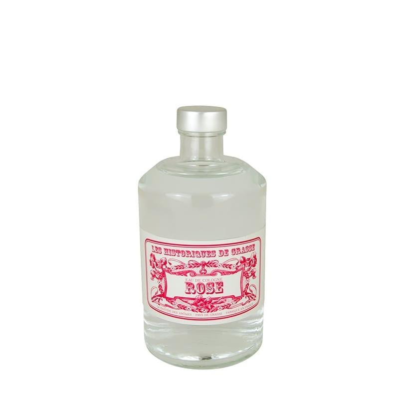 Eau de Cologne Rose 250 ml - Les Historiques de Grasse