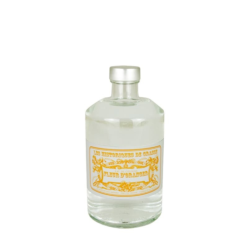 Eau de Cologne Fleur d'oranger 250 ml - Les Historiques de Grasse