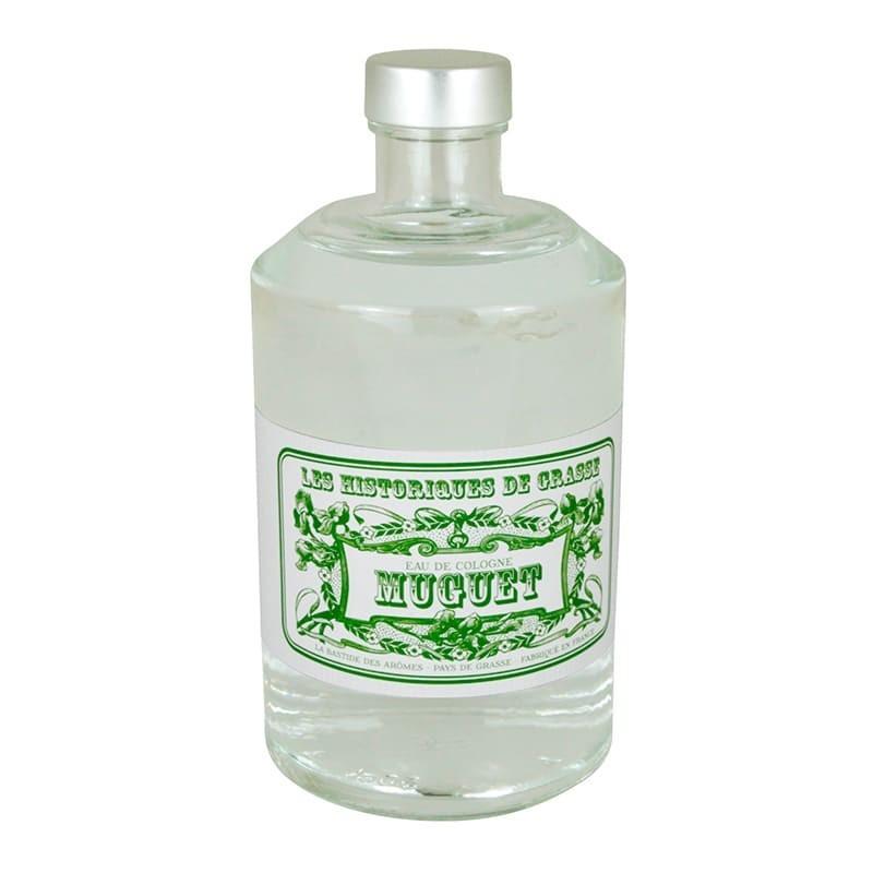 Eau de Cologne Muguet 500 ml - Les Historiques de Grasse
