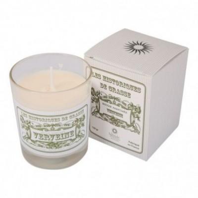 Bougie parfumée Verveine 130g - Les Historiques de Grasse
