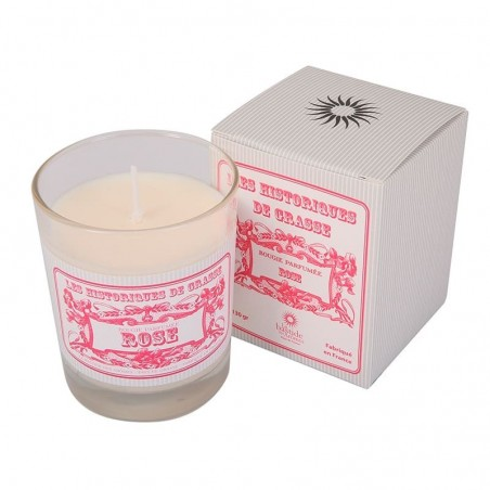 Bougie Parfumée 130g - Rose