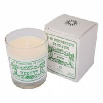 Bougie parfumée Muguet 130g - Les Historiques de Grasse