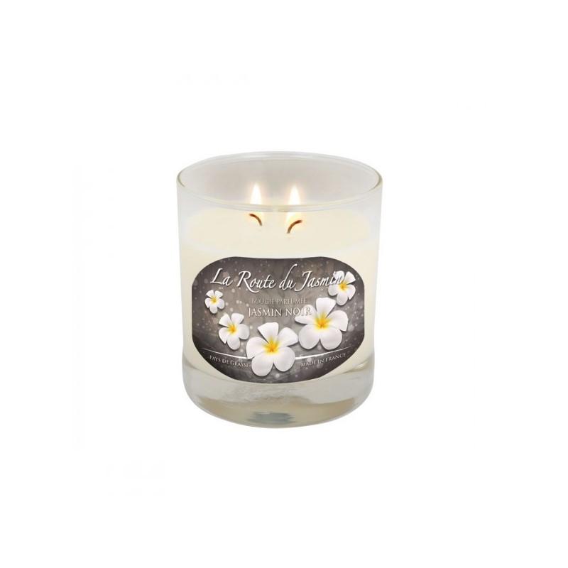 Bougie parfumée Amande Jasmin noir - La Route du Jasmin