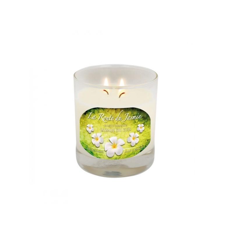 Bougie parfumée Amande Jasmin du sud - La Route du Jasmin
