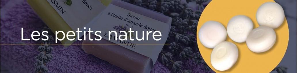 Savons Les Petits Nature - Savons traditionnels - La Bastide des Arômes